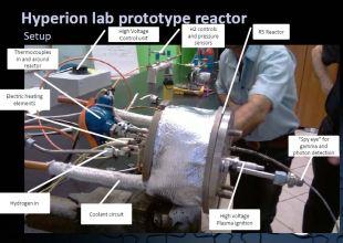 Hyperion reactor prototype