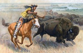 Ritualità-della-caccia-al-bisonte