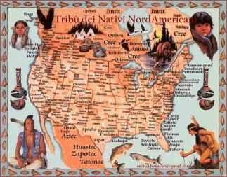 Tribù Nativi NordAmericani