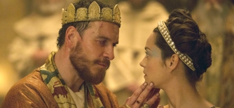 Macbeth (2015)   Pers: Michael Fassbender, Marion Cotillard   Dir: Justin Kurzel   Ref: MAC057AE   Photo Credit: [ See Saw Films/Studio Canal / The Kobal Collection ]   Editorial use only related to cinema, television and personalities. Not for cover use, advertising or fictional works without specific prior agreement