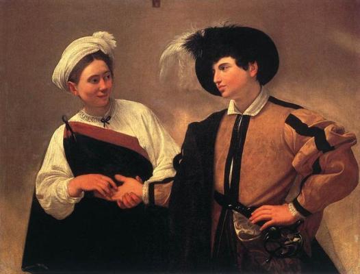 5 - Caravaggio - A Adivinha - Museus Capitolinos, Roma