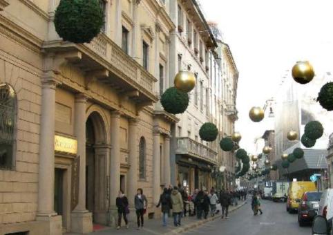Milano via Montenapoleone