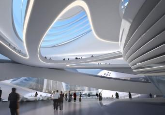 Changsha Meixihu International Culture and Art Centre / Zaha Hadid Architects