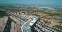 Stazione Afragola Napoli, vista dall'alto