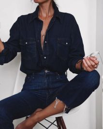 0a1135082f1e59b563d45e93b5a81b6f--dark-jeans-outfit-winter-dark-denim-shirt-outfit